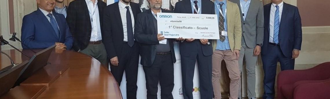 """Successo dell'ITT """"Fedi – Fermi"""" di Pistoia  al premio MIUR OMRON"""